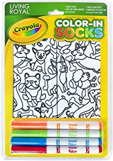 living royal crayola socks