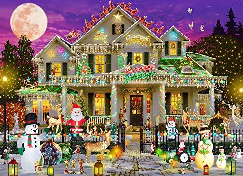 Happy Holidays Jigsaw Puzzle 1000 Piece
