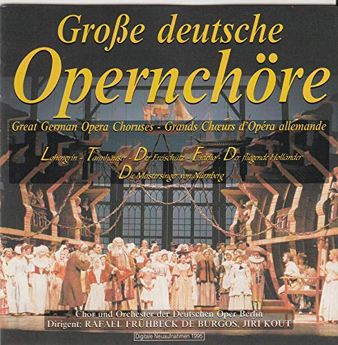 Great German 0pera Choirs