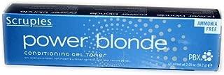 scruples power blonde gel toner