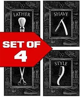 vintage style barber shop