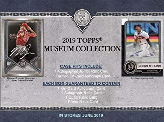2018 topps museum collection release date