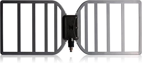 RGTech Monarch Outdoor HDTV Antenna & True Booster Amplifier, 60+ Mile Range Multidirectional Reception, UWB Technology, 4G/LTE & FM Filter for Maximum Over The Air UHF/VHF / DTV/DVB-T Reception