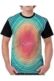 Vintage T-Shirt,Vintage Celestial Fashion Personality Customization