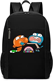 Mochila de Viaje de Mochila Escolar, The Amazing World of Gumball Brother Backpacks Travel School Large Bags Shoulder Laptop Bag For Men Women Kids