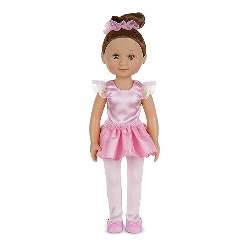Melissa & Doug Victoria 14-Inch Poseable Ballerina Doll,Multi,14 inches