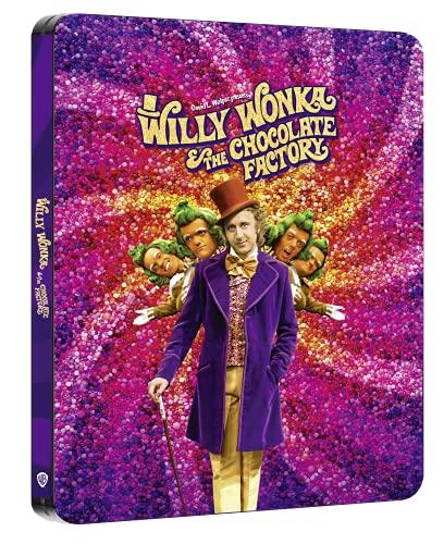 Willy Wonka e la Fabbrica di Cioccolato Steelbook (4K + Blu-ray)