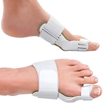 Bunion Corrector and Bunion Relief Orthopedic Bunion Splint Pads for Men and Women Hammer Toe Straightener and Bunion Protector Cushions- Relieve Hallux Valgus Foot Pain and Soothe Sore Bunions
