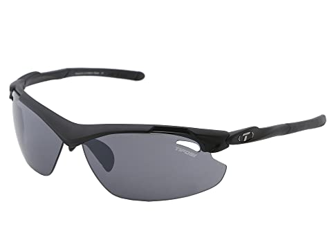 Tifosi Optics Tyrant 2.0 Interchangeable Matte Black/Smoke/AC Red/Clear Lens Running Sunglasses 8278010