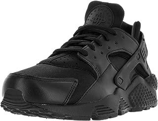 Women's Air Huarache Run Low-Top Sneakers (11, Black/Black)
