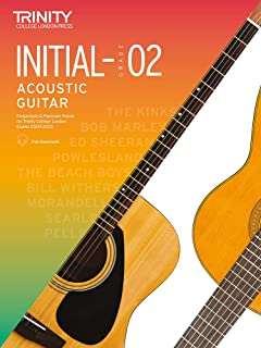 Trinity College London Acoustic Guitar Exam Pieces 2020–2023: Initial–Grade 2