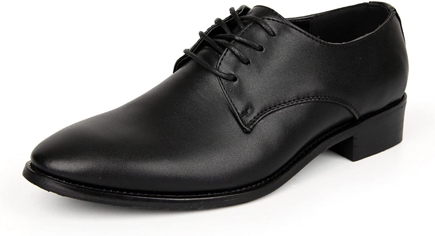 Autumn And Winter, New, Men, shoes, Leather, Lace, Leisure, Single shoes, Driving shoes, Work shoes