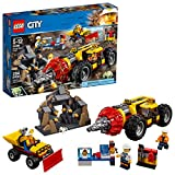 LEGO City Mining Heavy Driller 60186 Building Kit (294 Piece) (Discontinued by Manufacturer)