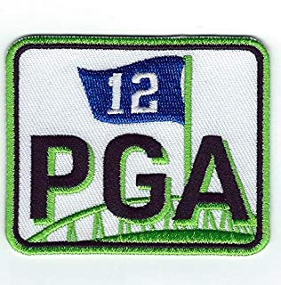 🏈2018 Seattle Seahawks Owner Paul Allen Memorial Jersey Patch - PGA 12th Man
