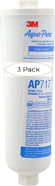 3M Aqua-Pure Super sale period limited in-Line Water Filter System P 5560222 discount AP717 Three
