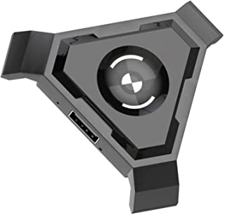 ألعاب الكمبيوتر الشخصي Mobile Gamepad Controller Game Keyboard Mouse Converter تحكم لعبة المحمول (Color : Orange)