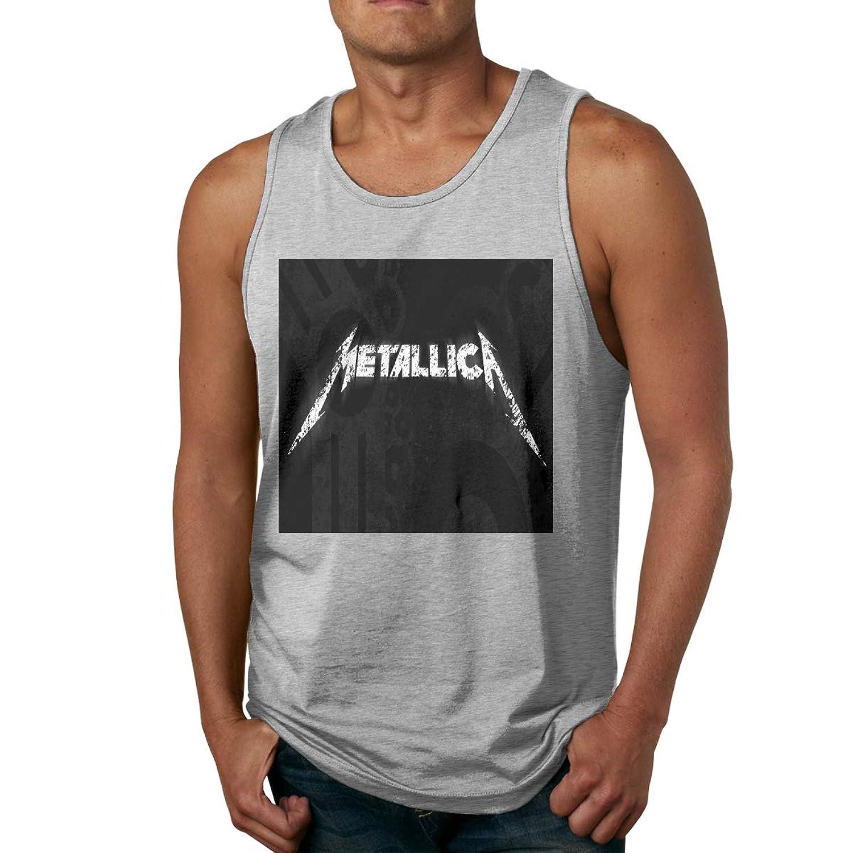 メンズ タンクトップ Metallica サマースポーツとフィットネス トップス