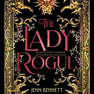 The Lady Rogue audiobook cover art