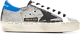 GOLDEN GOOSE Women's G35WS945H5 Silver Leather Sneakers