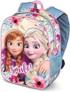 Frozen Smile-Zaino 3D, Mochila Infantil, 31 cm, 8.5 Liters, Multicolor