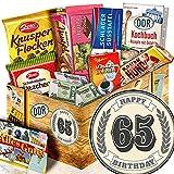 Geschenk zum 65. / DDR Korb / Geschenke 65. Geburtstag Mann