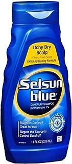 Selsun Blue Dandruff Shampoo Itchy Dry Scalp, 11 OZ