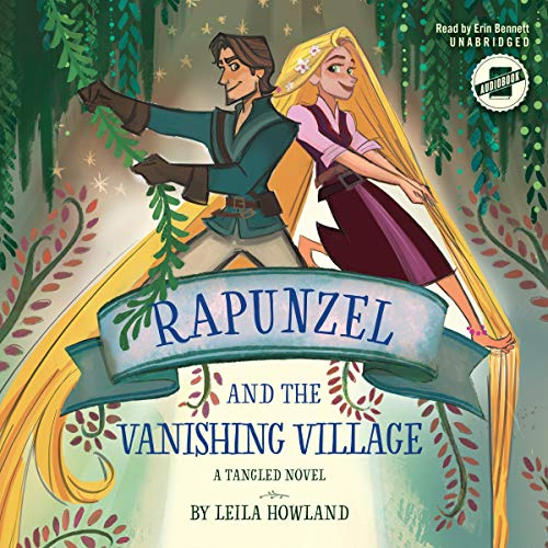 Rapunzel and the Vanishing Village audiobook cover art