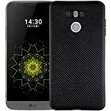 LG Q6 Q6+ Q6a G6 Mini K5 Awesome Case, Soft Carbon Fiber