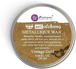 Prima Marketing Art Alchemy-Metallique Wax-Vintage Gold