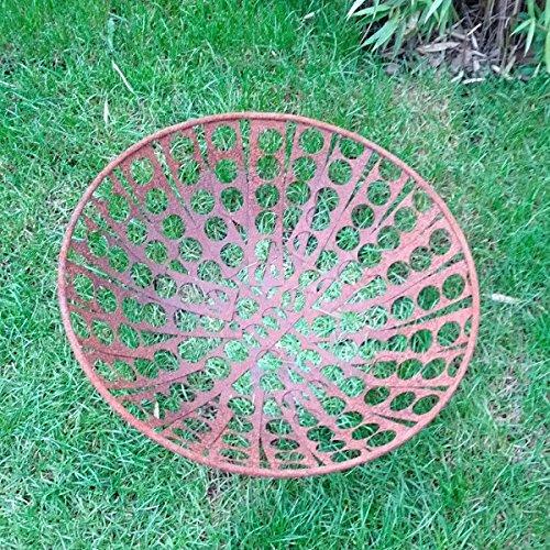 Tuinspiratie vuurschaal 50 cm diameter patina