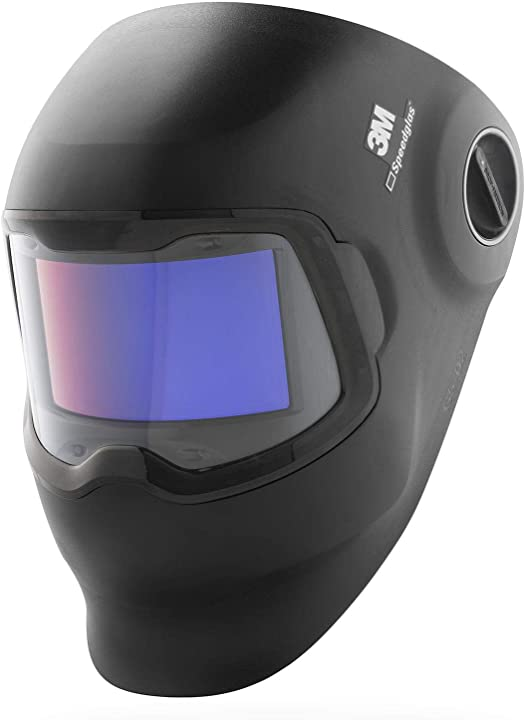 casco per saldatura con lente di filtro oscuramento automatico curva, tonalità variabili 8-12 speedglas g5-02 621120