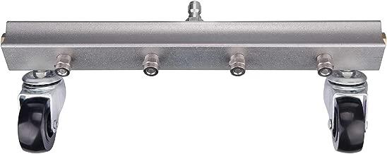 DUSICHIN DUS-013 Water Broom Surface Cleaner Pressure Washer Power Sweep Driveway Sidewalk Deck 4000 PSI 13 inches