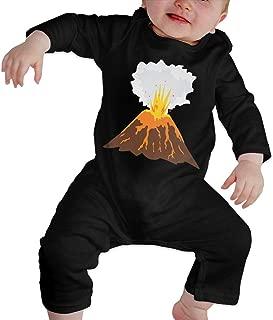 LTYBabys Volcano Eruption Unisex Baby Long Sleeves Cute Jumpsuit