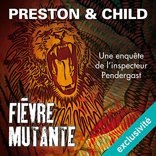 Fièvre mutante audiobook cover art