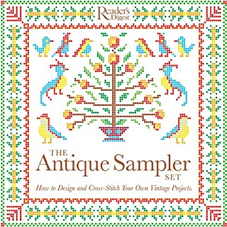 The Antique Sampler Set: How to Design and Cross-Stitch Your Own Vintage Projects
