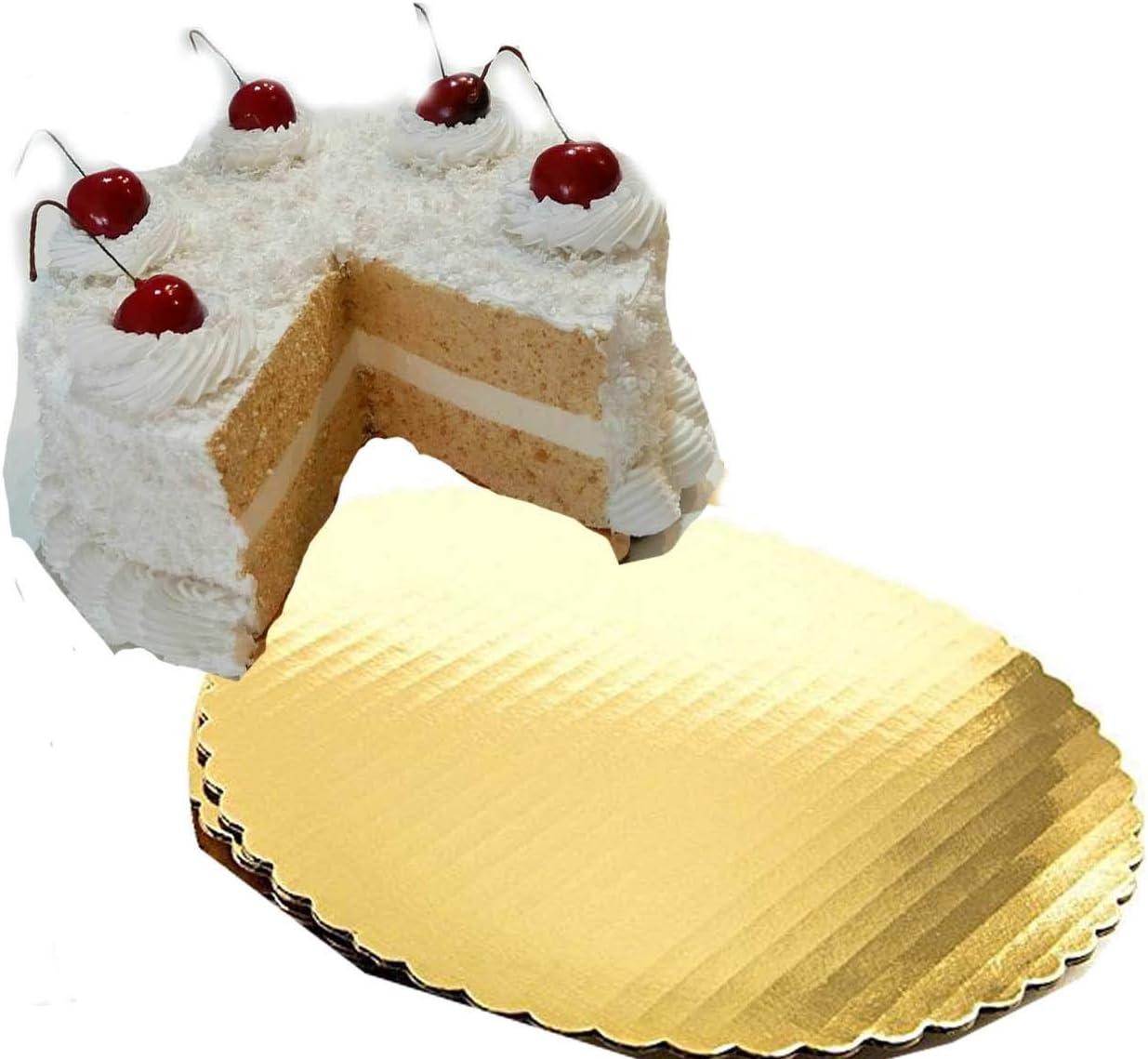 Cake Board Circle - gold good Popular brand in Phoenix Mall the world