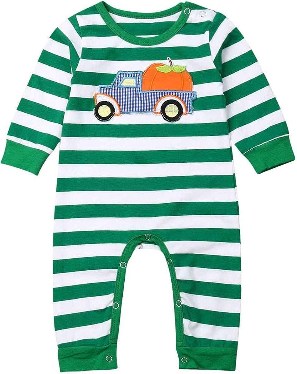 Dcohmch Newborn Baby Girls Boys T Atlanta Mall Outfits Christmas Thanksgiving Surprise price
