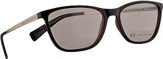 Armani Exchange AX 3028 Eyeglasses 53-16-140 Tortoise w/Demo Clear Lens 8037 AX3028