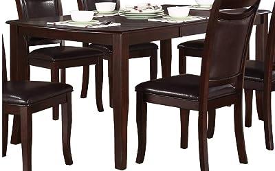 Amazon.com - Blusea iKayaa 5PCS Modern Metal Frame Dining ...