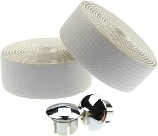 KINGOU Carbon Fiber PU Leather Road Bike Handlebar Tape Bar Tapes - 2PCS Per Set