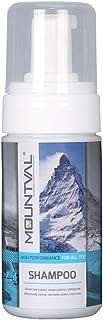 Mountval シャンプー アウトドアウェア レザー スエード ヌバック ゴアテックス 発泡性 塩分除去 100ml