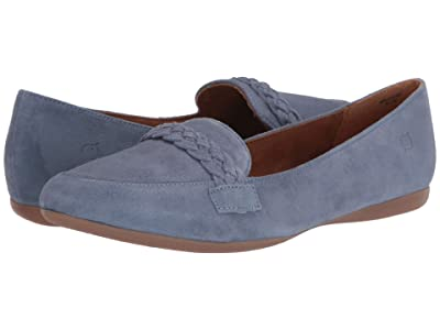 Born Mirror (Light Blue Suede) Women