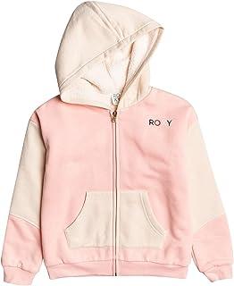 Roxy Girl's Ready For It - Zip-Up Hoodie for Girls Hooded Sweatshirt