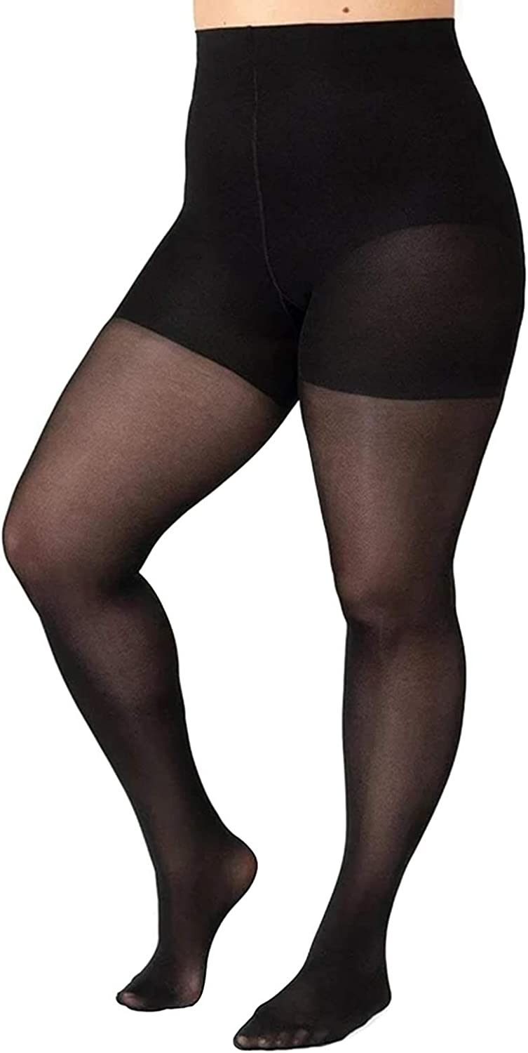 JOLIXIEYE Tear-Proof Shaping Tights Ultra-Thin 5D Plus Size Translucent Women Pantynose