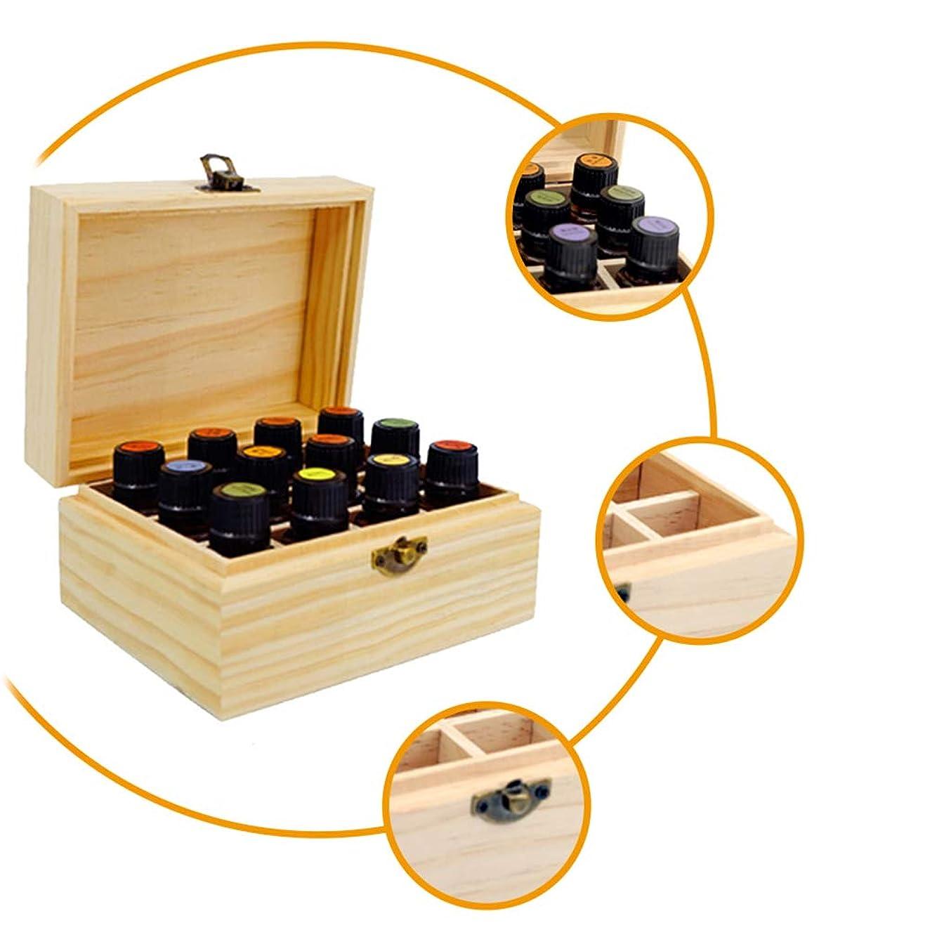おなじみの膜メッセージJIOLK エッセンシャルオイル 収納ボックス 12本用 木製 香水収納ケース 大容量 精油収納 携帯便利 オイルボックス おしゃれ 精油ケース