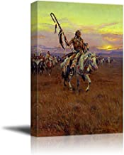 Medicine Man by Charles Marion Russell - Canvas Print Wall Art Famous Painting Reproduction - 16