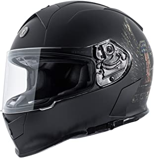 Torc T14 Mako Full Face Motorcycle Helmet With Graphic (Wings)