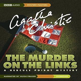 Murder on the Links audiobook cover art