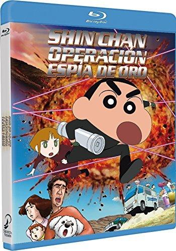 Shinchan Operación Espia De Oro Blu-Ray [Blu-ray]