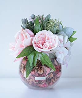 (エミリオロバ) EMILIO ROBBA TTITC11110 花 アレンジメント アートフラワー ギフト お祝い バラ ローズ ポプリ 香り